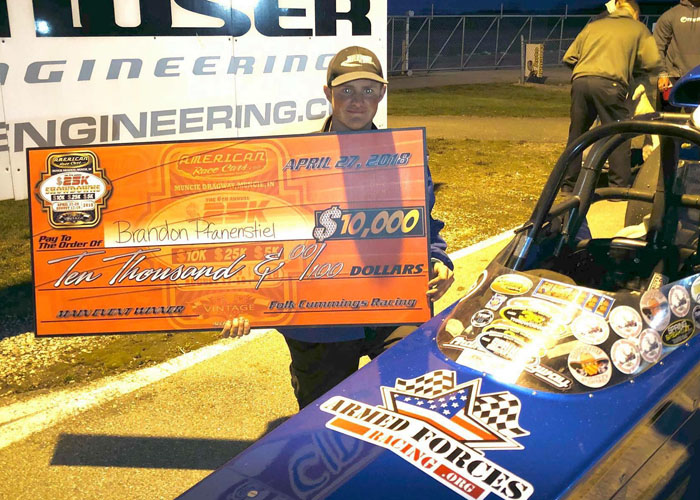 """This is Bracket Racing Elite has taken my personal racing program to new levels, from winning on the big stage to new partnerships."" - Brandon Pfanenstiel"