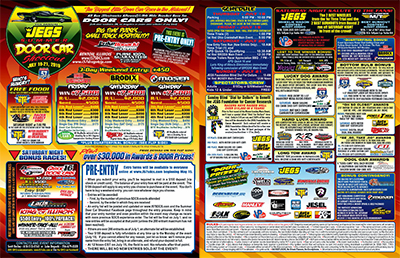 Summer Door Car Shootout Mini Flyer 2019