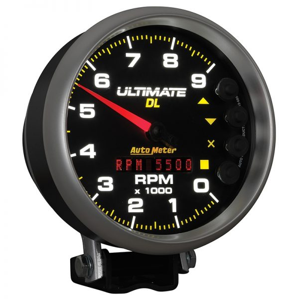 autometer dl tach angled lit