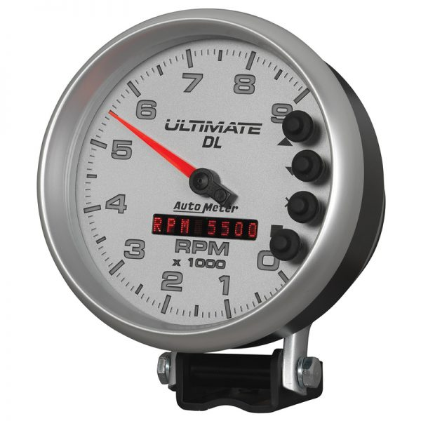 autometer dl tach silver