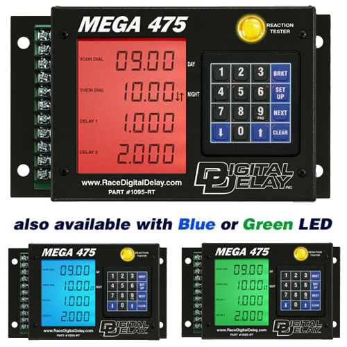mega 475 black with backlights